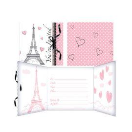 8 Invitaciones Paris