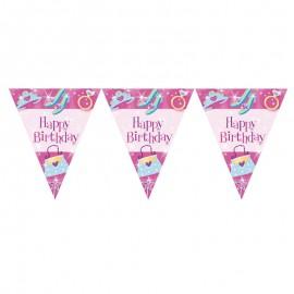 Pancarta Princesa Happy Birthday
