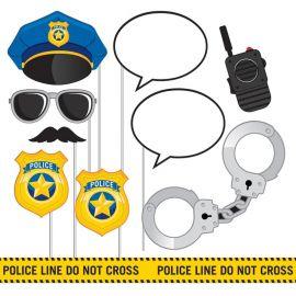 10 Acessórios Policia para Photo Booth