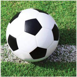 18 Guardanapos de Fútbol 25 cm