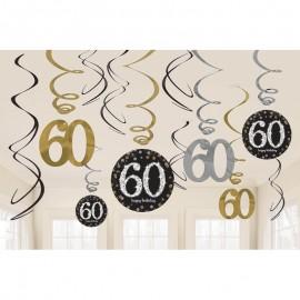 12 Colgantes 60 Elegant