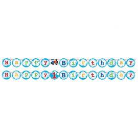Guirnada Trenecito con Stickers 210 cm