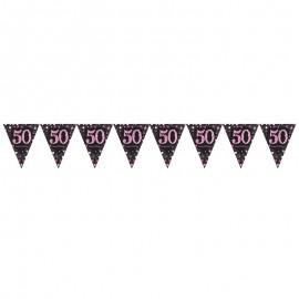 Banderín 50 Elegant Pink