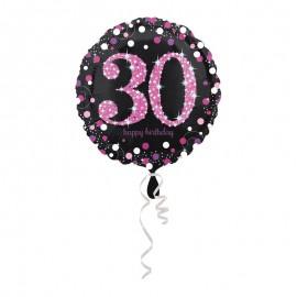Globo Foil 30 Elegant Pink 43 cm