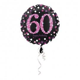 Globo Foil 60 Elegant Pink 43 cm
