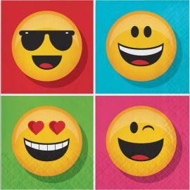 16 Guardanapos Emoticomes 33 cm