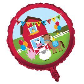 Balão Animais da Fazenda 45 cm
