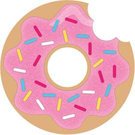 8 Invitaciones Donut Time