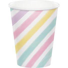 8 Copos Unicórnio Sparkle 266 ml