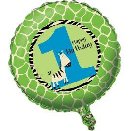 Balão Primeiro Año Zebra