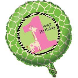 Balão Primeiro Ano Girafa