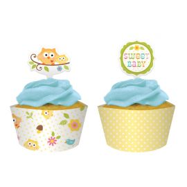 Base e Picks Cupcake happy Tree