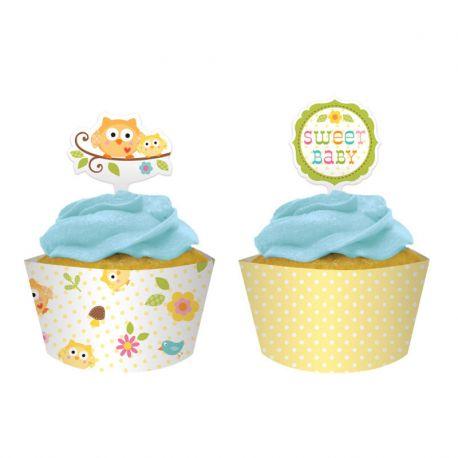 Base y Picks Cupcake happi Tree