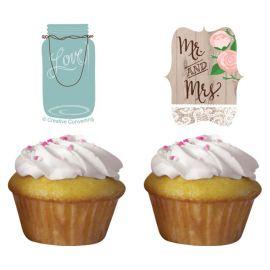 Kit Cupcakes Rustic Wedding