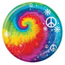 8 Pratos Hippie 18 cm