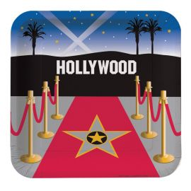 8 Pratos Hollywood 23 cm