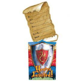 8 Convites Medieval