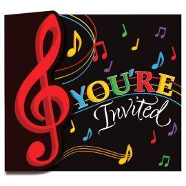 8 Convites Música
