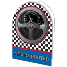 8 Convites Racing