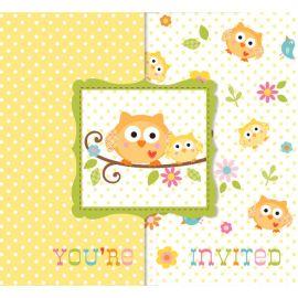 8 Invitaciones Happi Tree