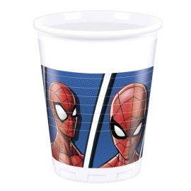 8 Copos Spiderman Home Coming 200 ml