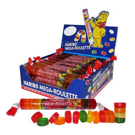 Mega Roulette Haribo 45 Gr