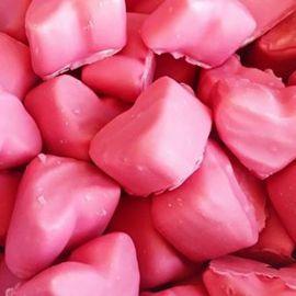 Corações de Morango Vidal 75 Uds