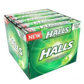 Caixa Halls de Menta Sem Açúcar 20 Uds