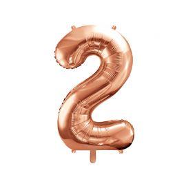Balão Número 2 Foil 86 cm