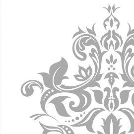 36 Guardanapos Bodas de Prata 33 cm