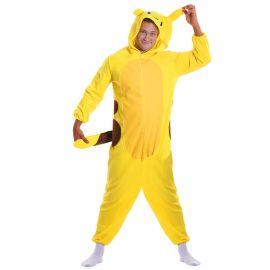 Fato de Pijama de Chinchilla para Adulto Eléctrico