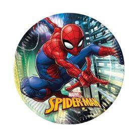 8 Pratos SpiderMan 23 cm