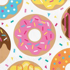 16 Servilletas Servilletas Donut 33 cm