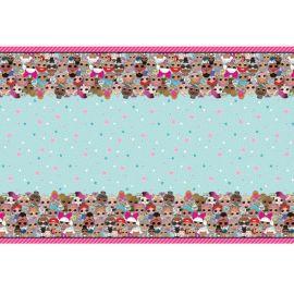 Toalha de Mesa Lol Surprise de Plástico 137 x 213 cm