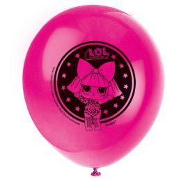 8 Balões Lol Surprise 30 cm