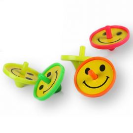 5 Brinquedos Peões Sorridentes