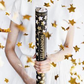 Cañon Confete com Estrelas 60 cm