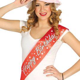 Banda Happy Birthday Roja