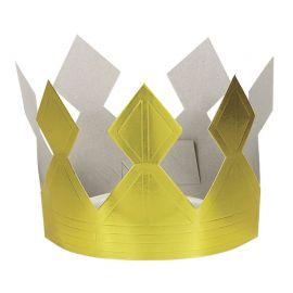 Coroa Dourada de Cartón