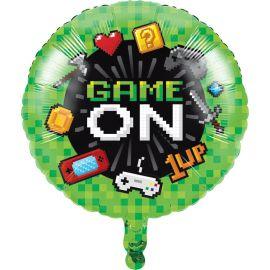 Balão Video Games Foil 46 cm