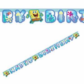 Grinalda Bob Esponja Happy Birthday