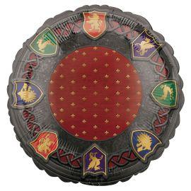 Balão Medieval Redondo de Foil