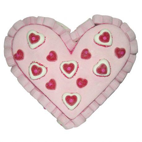 Bolo de Gomas em Forma de Coração