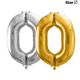 Balão Número 0 Foil 86 cm