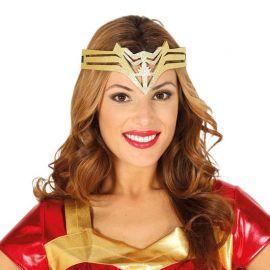 Cinta de Cabeça de Super Heroina