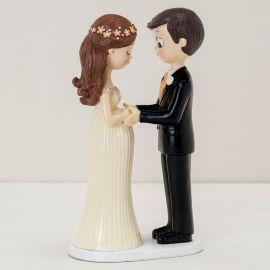 Figura de Noivos com Noiva Grávida