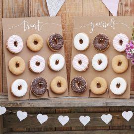 2 Paredes de Donuts Rústica