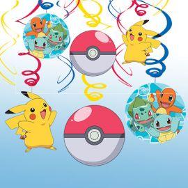 6 Decorativos Pendentes Pokémon