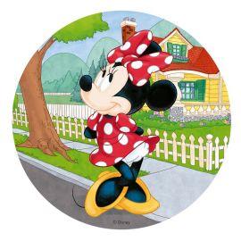 6 Bolacha da Minnie Mouse 20 cm