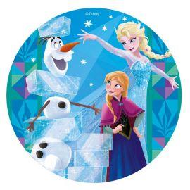 6 Obleas Frozen 20 cm